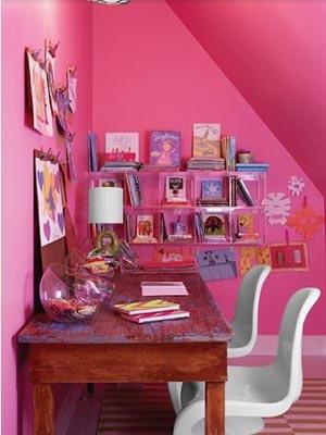 bubblegum pink home color
