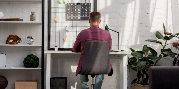 Personal Space for home office