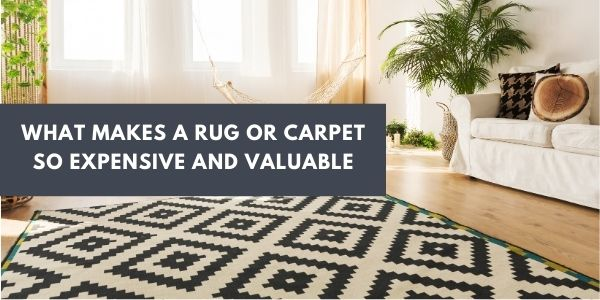 WHAT MAKES A RUG OR CARPET SO EXPENSIVE AND VALUABLE
