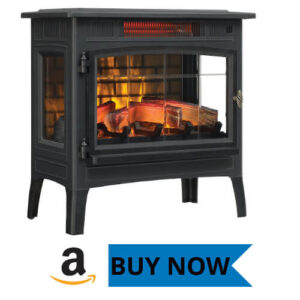 Duraflame 3D Infrared Electric Indoor Space Heater